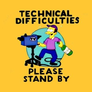 Post image for Technical Difficulties: Authors Missing